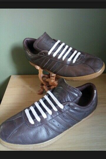 Adidas Tobacco Brown 9.5 Deadstock, Rare, Vintage