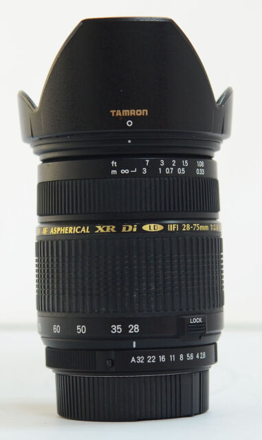 # Tamron SP 28-75mm f/2.8 AF XR IF Di LD Lens for Pentax