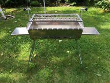 Mangal 2 mm Edelstahl Grill BBQ Standgrill Мангал mit Grillrost