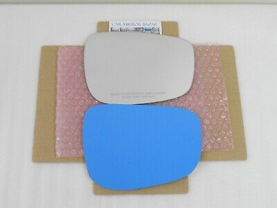D555R CHECK SIZE Mirror Glass for SUBARU Passenger Side Right RH FULL ADHESIVE