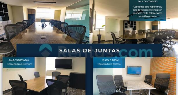 Renta de oficinas Naucalpan amuebladas o sin amueblar con estupendas instalaciones