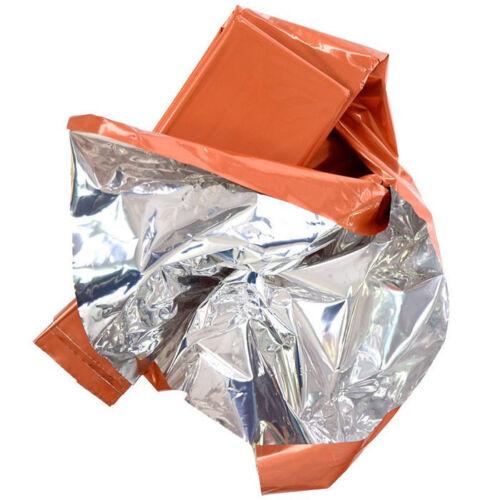 Silber MFH Rettungsdecke Rettungsdecken Survival Notfall Rettungsfolie Orange