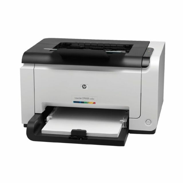 HP COLOR LASERJET PRO CP1025 FARBLASER A4 DRUCKER PRINTER LASER USB CE913A