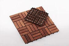 Teak Wood Tile Spa/Pool/Bath/Shower/Deck 12 slats, 10 pcs per box Premium oiled