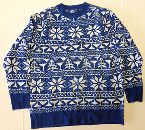 image is loading skyy vodka mens ugly christmas sweater blue white