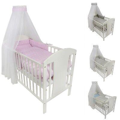 Bettset mit Nestchen viele Muster !!! Neu Babybettwäsche Kinderbettwäsche 8tlg