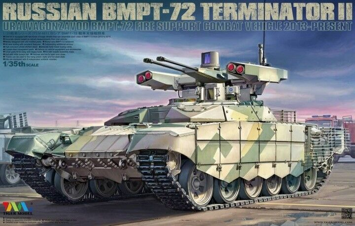 Tiger Model 1 35 Russian BMPT-72 Terminator II