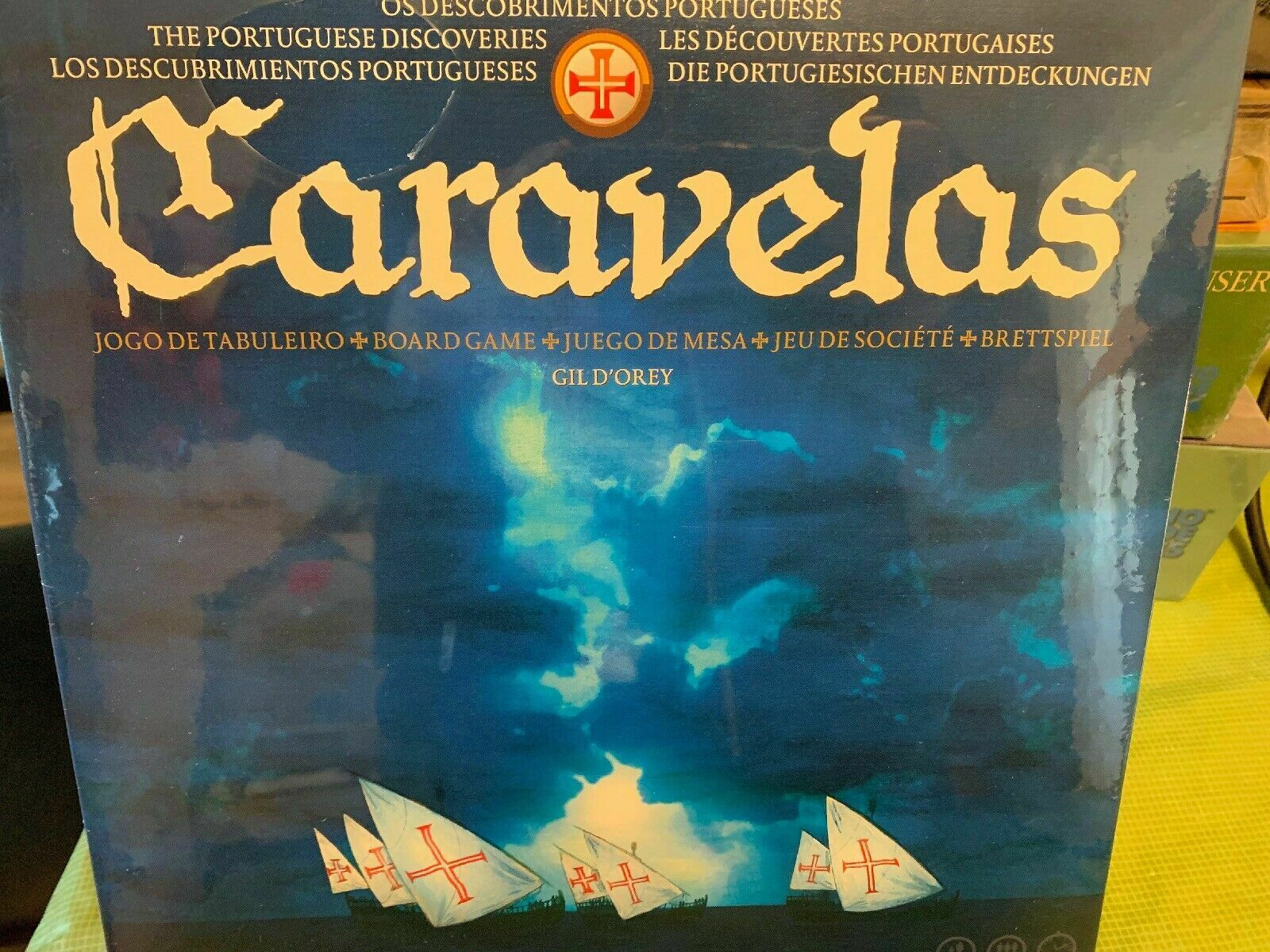 Caravelas Board Game - NEW SEALED