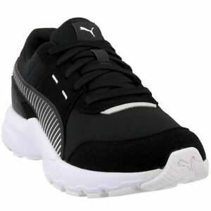 Puma-Future-Runner-Casual-Sneakers-Black-Mens
