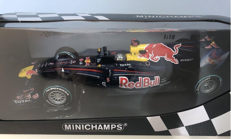 1 18 Minichamps rojoBULL RENAULT F1 WINNER ABU DHABI 2010