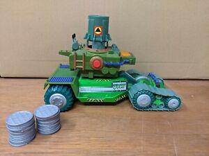 2004 Teenage Mutant Ninja Turtles TMNT Urban Assault Vehicle Sewer Lid Launcher