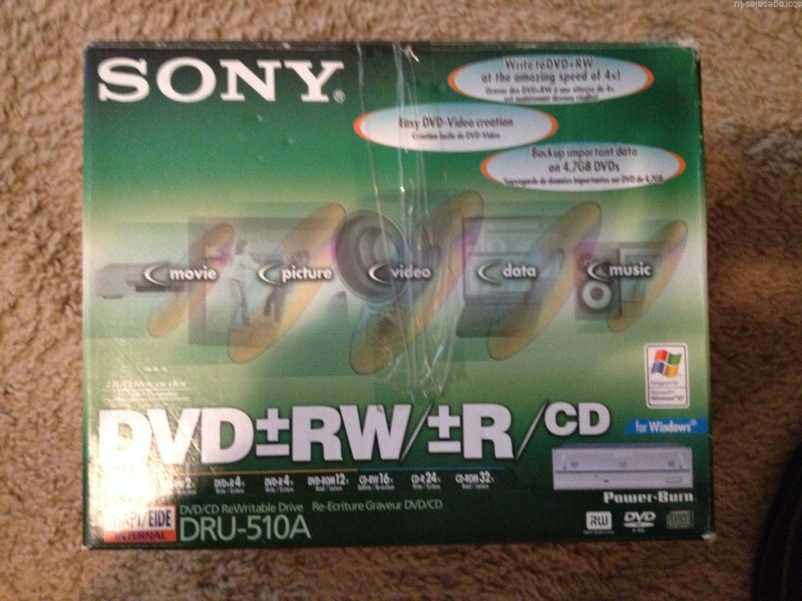 Amazon. Com: sony dru-510a dvd/cd rewritable drive: computers.
