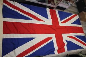 Ww2 British Union Jack Flag 9 Feet Canadian Made Ebay