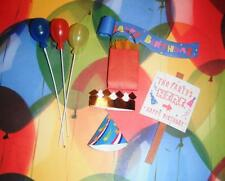 Birthday Sign Balloons Gift Bag fits Fisher Price Loving Family Dollhouse Dolls