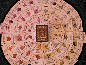 NATURE CALENDAR PAGAN Wicca PLAYING CARD DIVINATION DECK MANIFESTATION TOOL GAME