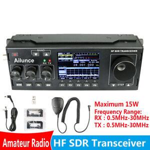 Details about Ailunce HS1 HF SDR HAM Transceiver Transmit Receiver TUNE/VFO  /SPLIT DSP+Mic