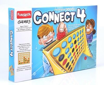 funskool the original game of connect 4 connect 4 big board game