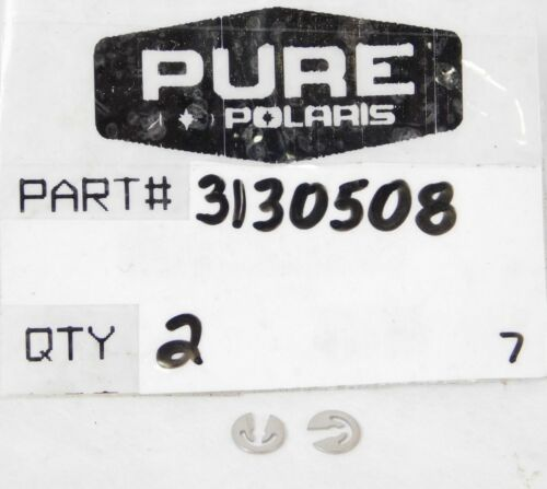 2 pack POLARIS NOS 3130508 UTV E-RING CLIPS FITS 03 RANGER 2X4//4X4//6X6 SERIES 10