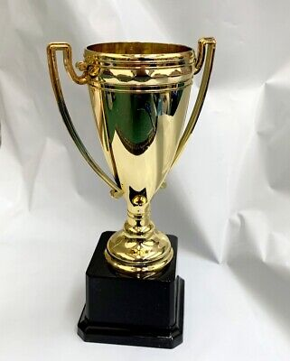 NEW 20cm Novelty Winners Trophies Plastic Gold Winner Cup Party Game Favors