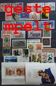 Germany-Federal-Frg-vintage-yearset-1978-Postmarked-Used-complete