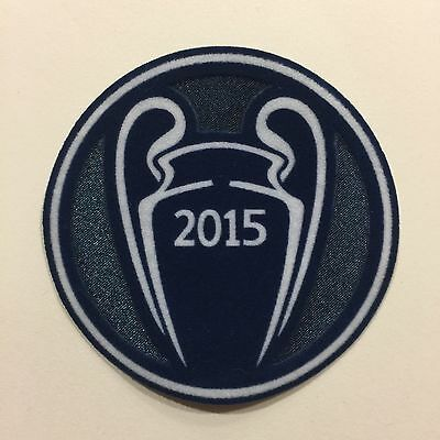 2015 UEFA Champions League winner patch FC Barcelona