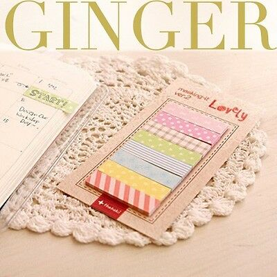 Cute 160 Pages Sticker Bookmark Point It Marker Memo Post Flags Sticky Notes