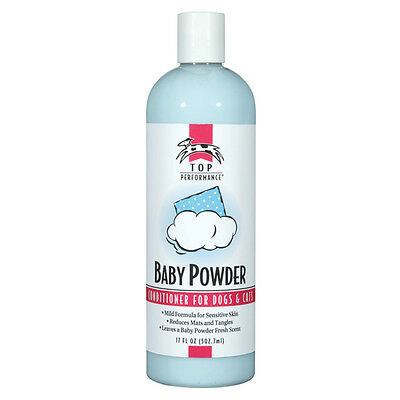 Top Quality Professional Dog & Cat Grooming BABY POWDER Shampoo and Conditioner