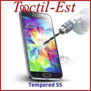 Tempered-Film-de-Protection-en-Verre-Trempe-Anti-Choc-Galaxy-S5-i9600-G900F