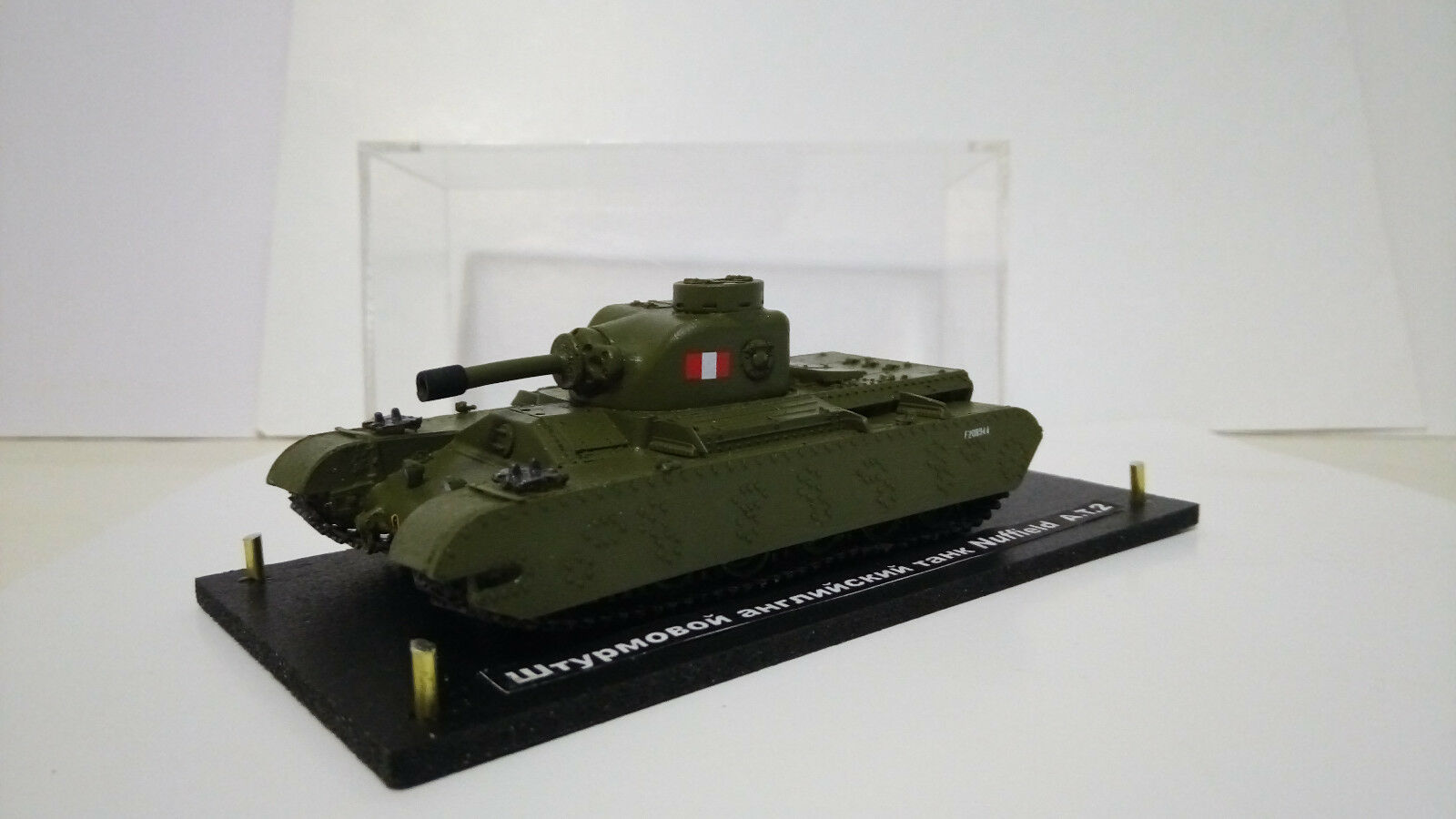 Assault tank Columbia nuffield a.t.2 (1 72) resin