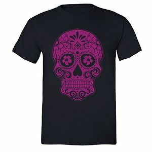Sugar-Skull-Day-of-the-Dead-T-shirt-Pink-Mexican-Gothic-Dia-Los-Muertos-shirt