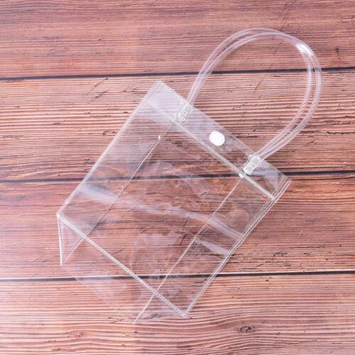 Frauen Sommer Strand klar Einkaufstasche transparent Handtasche Handtasche JD