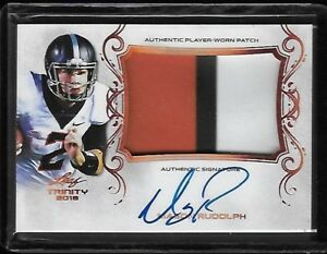 2018 Leaf Trinity MASON RUDOLPH 3 Color Patch Bronze ...