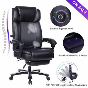 Terrific Details About Vanbow Big And Tall Reclining Leather Office Chair High Back Computer Chair Ncnpc Chair Design For Home Ncnpcorg