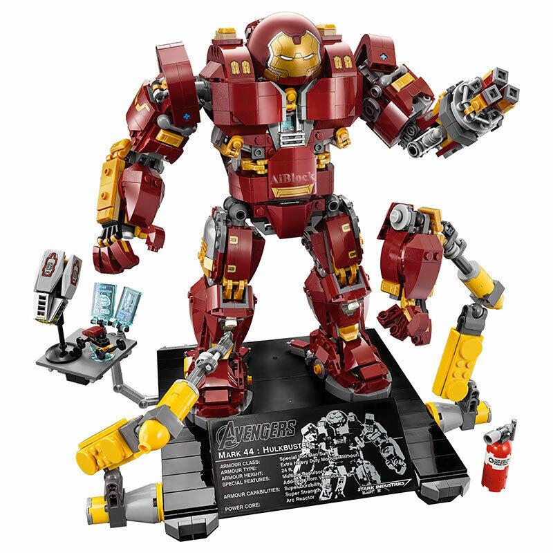Iron Man Hulkbuster briques compatible 76105 - 1527 pieces