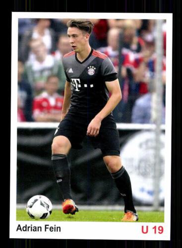 Adrian Fein Autogrammkarte Bayern München U 19 2016-17