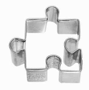 Ausstecher-Keksausstecher-Ausstechform-Puzzleteil-Edelstahl-RBV