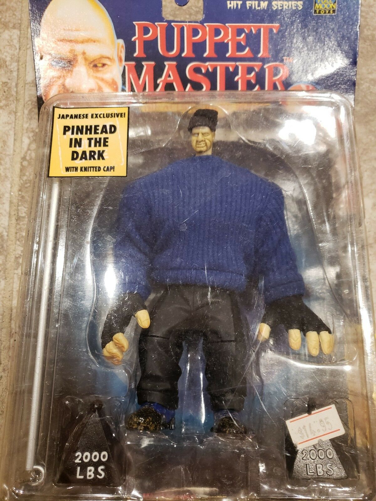 Japanese Exclusive Puppet Master 1998 Pinhead w  Knitted Cap.