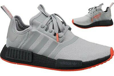 Adidas NMD R1 Originals Sneaker F35882 grauschwarzrot | eBay