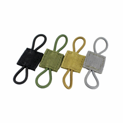 """2PCS PTT Retainer For 1/"""" MOLLE Platform Routing Wires Tubes Antennas Cables"""