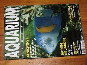 Revue-Aquarium-magazine-N-108-Tanichthys-Bassin-de-jardin-Pomacanthus