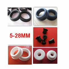 32mm Cable Open Style Rubber Wiring Grommet DIY Pack of 50