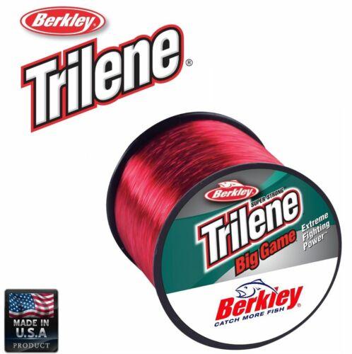 BERKLEY SUPER STRONG MONOFILAMENT LINE Trilene Big Game Red