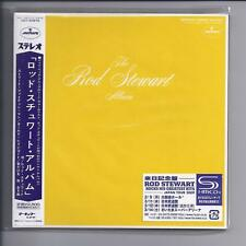 The ROD STEWART Album /An Old Raincoat JAPAN mini lp SHM cd 2 sleeves UICY 93976