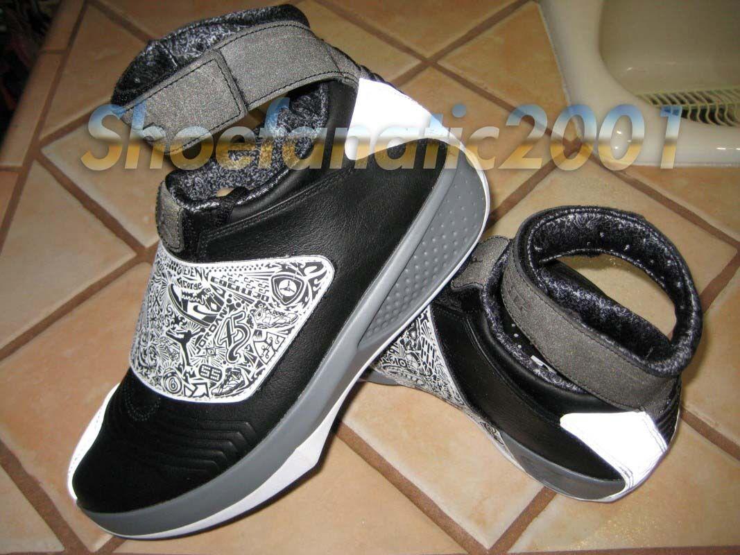 Nike Air Jordan XX 20 30th Year Quickstrike QS Black White Grey No Lid Retro 8 Wild casual shoes
