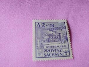 STAMPS-TIMBRE-POSTZEGELS-DUITSLAND-SACHSEN-1946-NR-89A-D151