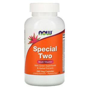Now Foods, Special Two, Multi Vitamin, 240 Veg Capsules Vitamins I