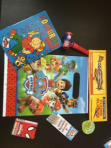Ready Made Birthday Party Loot Favours Paw Patrol Girls Pre Filled Goody Bag