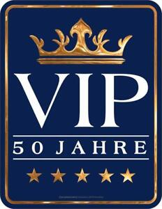 geburtstag 50er f nfzig f nfziger 1969 vip 50 jahre blechschild ebay. Black Bedroom Furniture Sets. Home Design Ideas