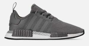 meet bff64 e8f77 Details about ADIDAS NMD RUNNER R1 CASUAL MEN's GREY THREE - GREY THREE -  CORE BLACK NEW