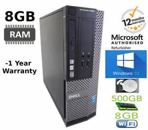 A-Buon-Mercato-Veloce-Dell-OptiPlex-i5-Desktop-MT-8GB-500GB-Windows-10-PC-COMPUTER-UFFICIO